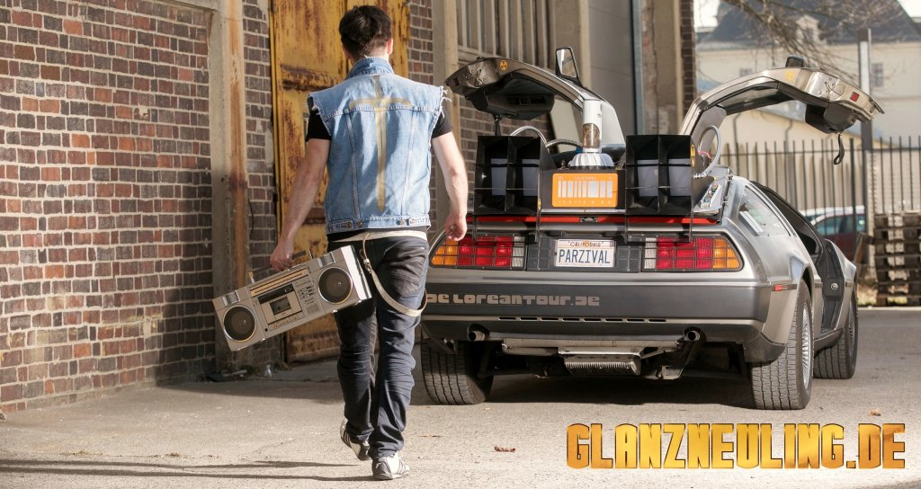 Ready Player One Delorean mieten