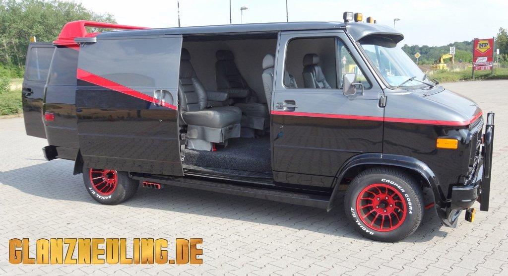 Bitte einsteigen in den A-Team Van