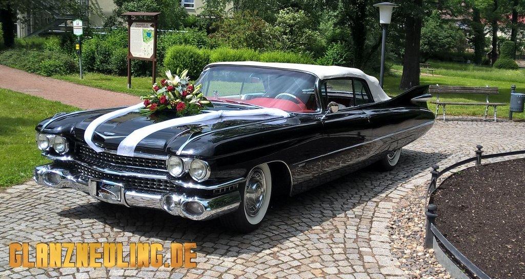 USA Cabrio als Hochzeitsauto in Dresden mieten