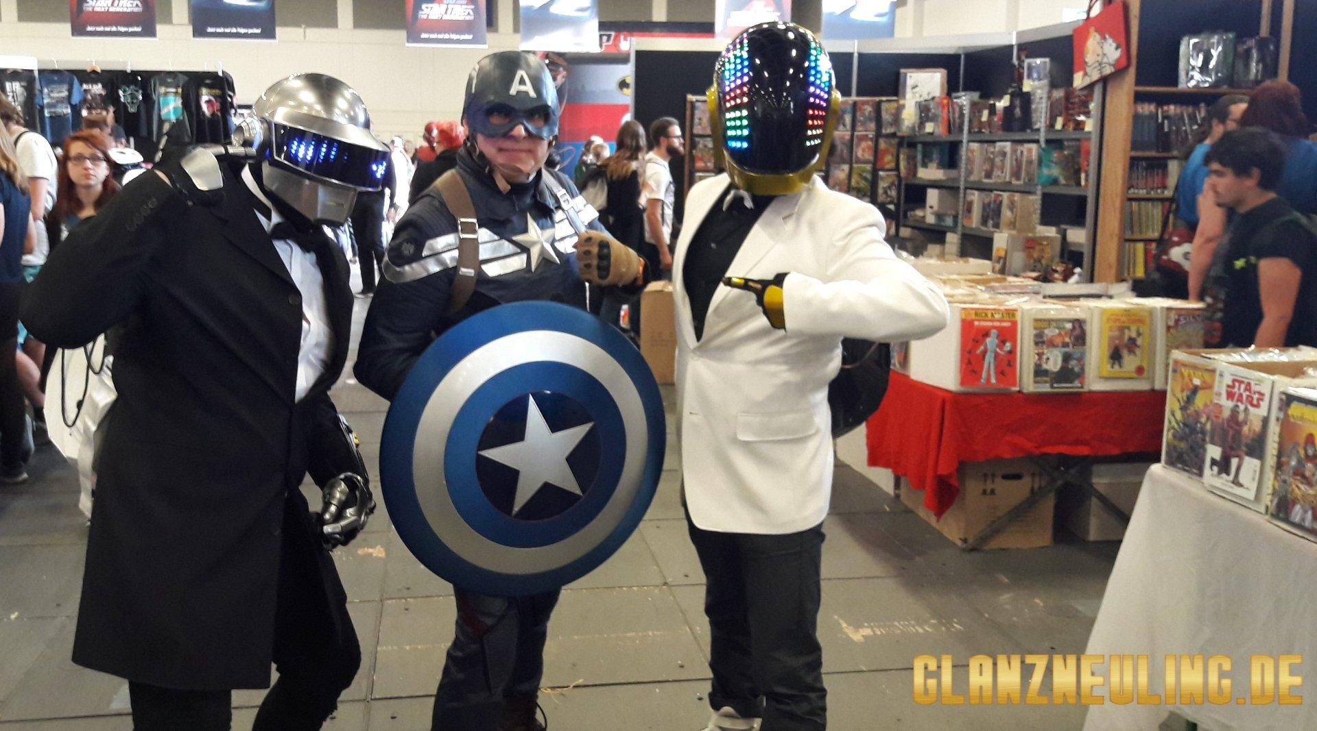 Daft Punk und Captain America mieten