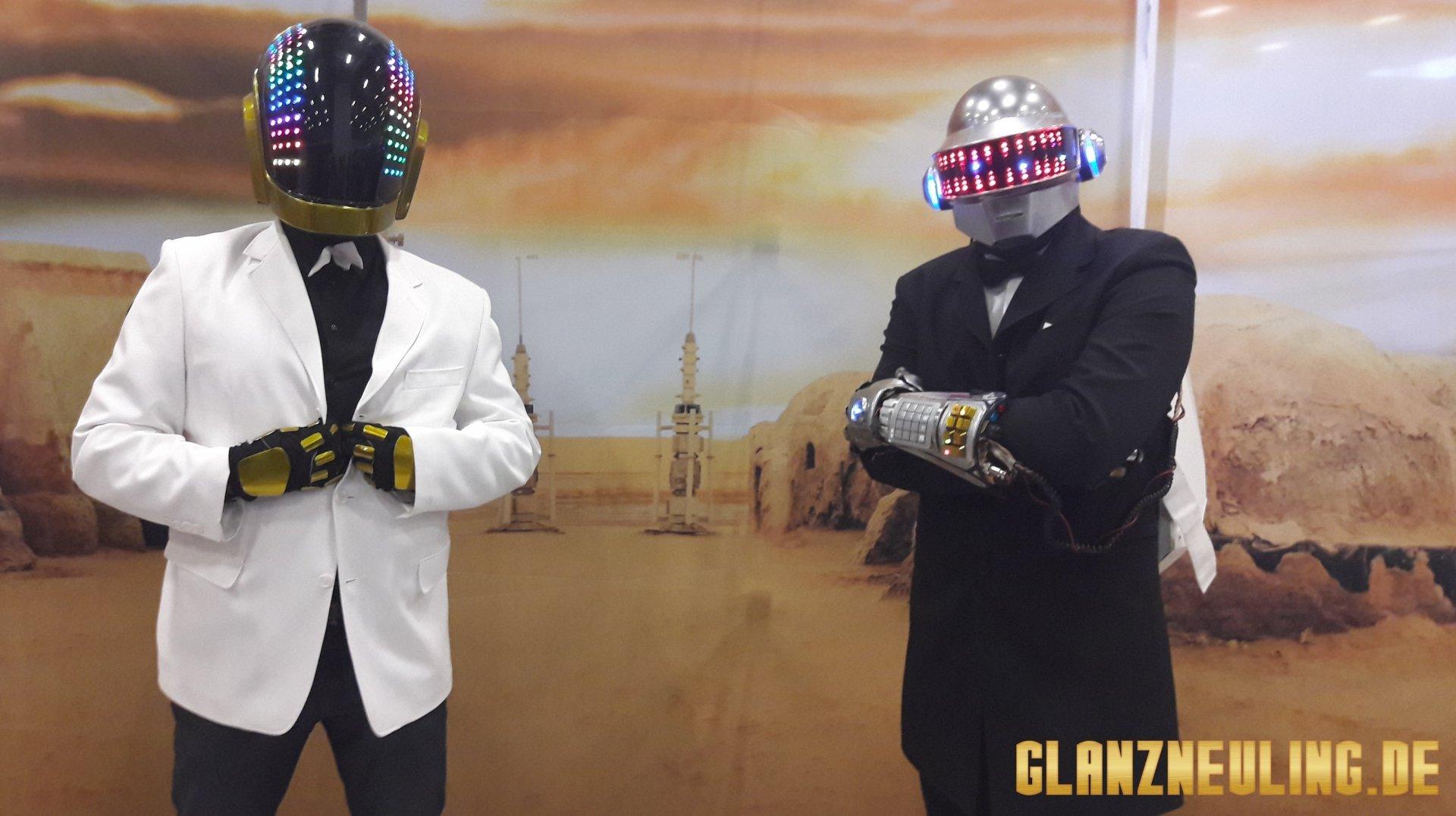 Daft Punk Helme begeistern Millionen