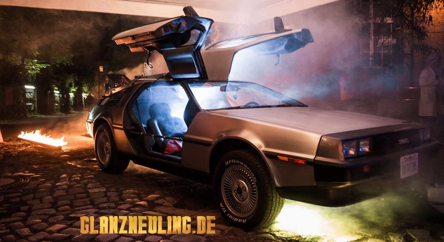 Special Effects am Delorean mieten
