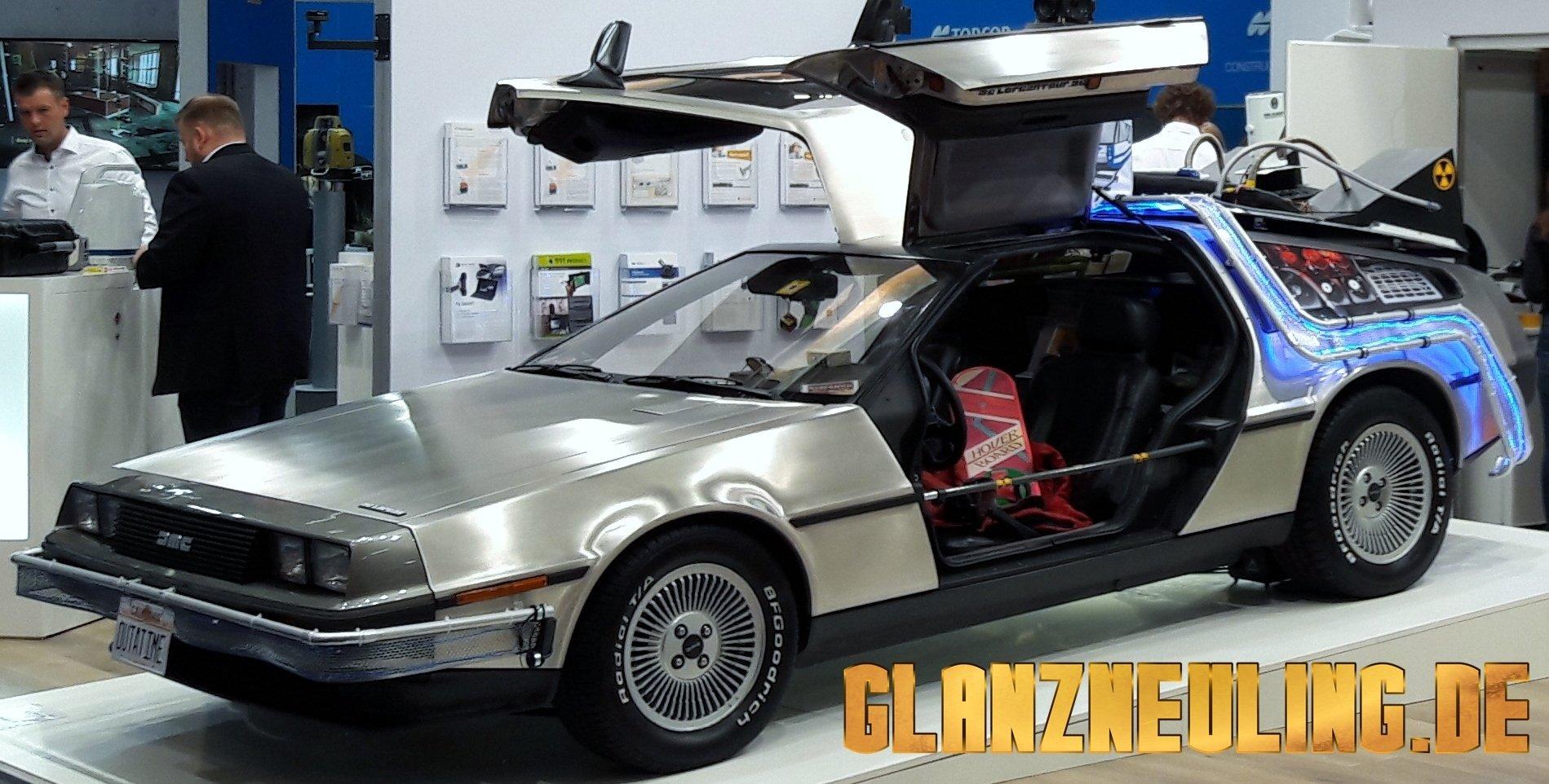 Auto wie Zurück in die Zukunft mieten