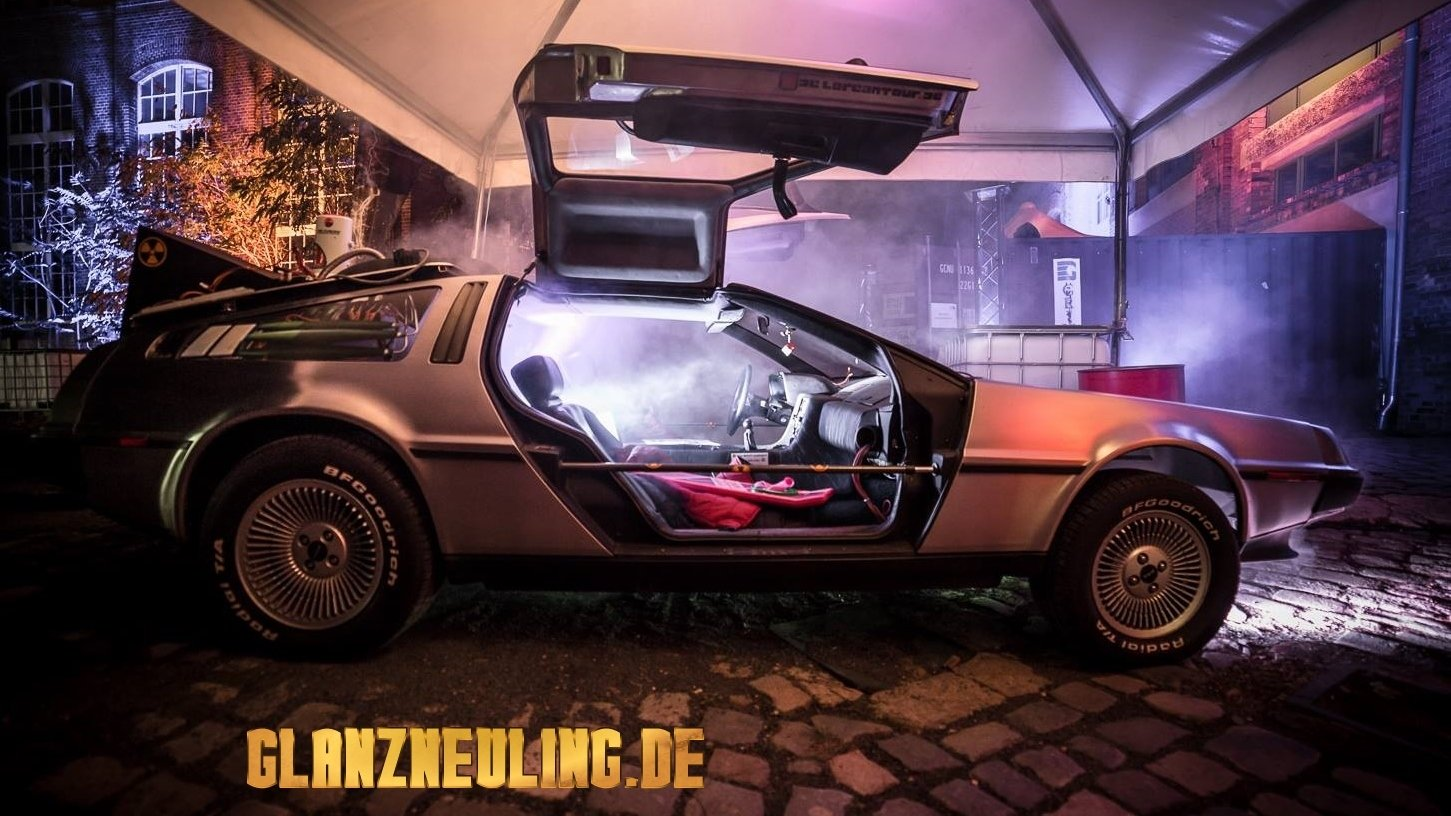 Special Mottoevent mit Back to the Future Thema