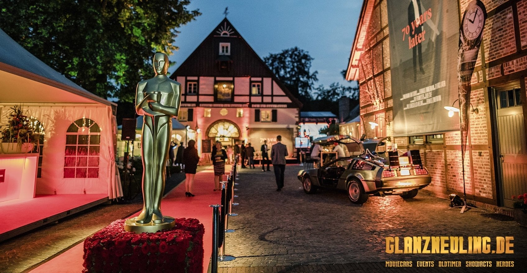 Firmenevent mit Hollywood Thema organisieren