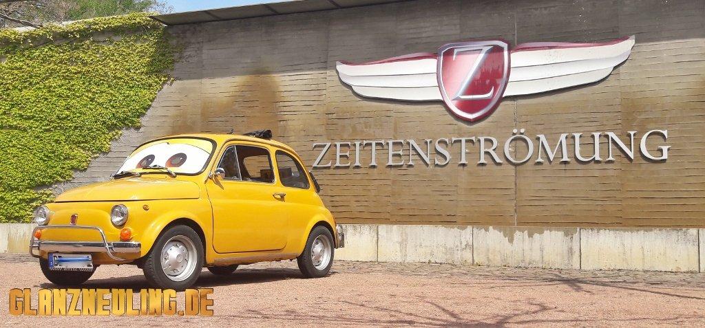 OLdtimer mieten Berlin,  Party Event kleiner Italiener Fiat 500