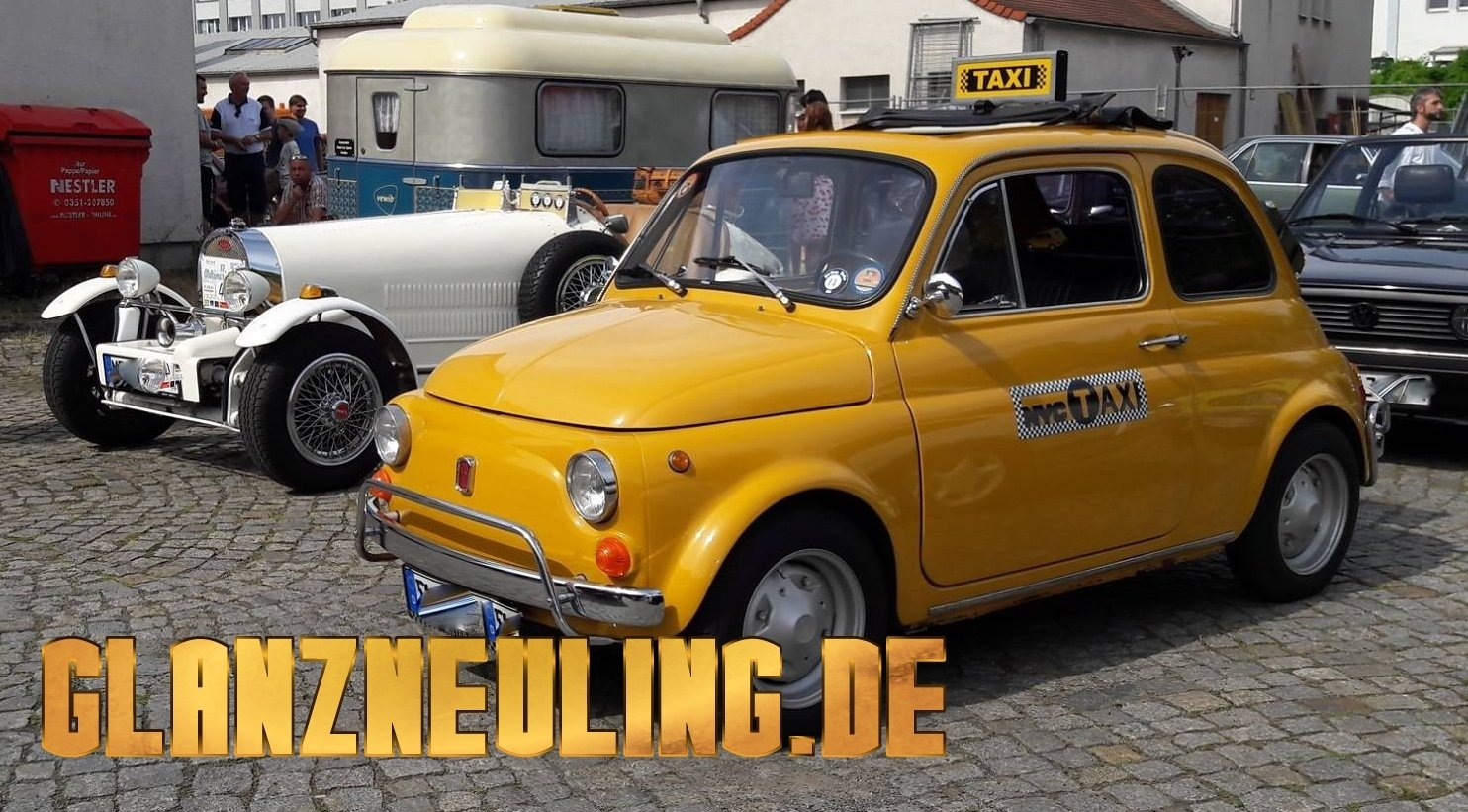 Fiat New York Taxi in Dresden mieten