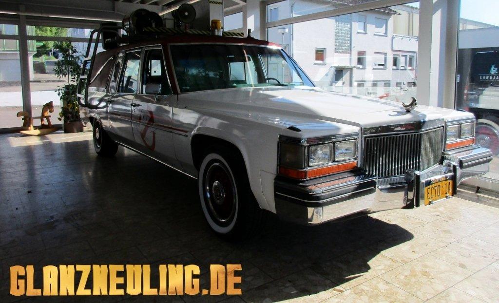 Leichenwagen ähnlich Geisterjäger Auto mieten