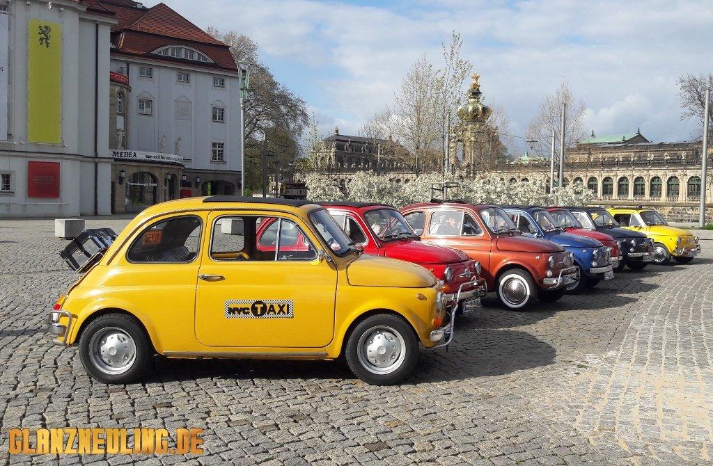 New York Taxi mieten gelb Dresden, Berlin Leipzig Sachsen