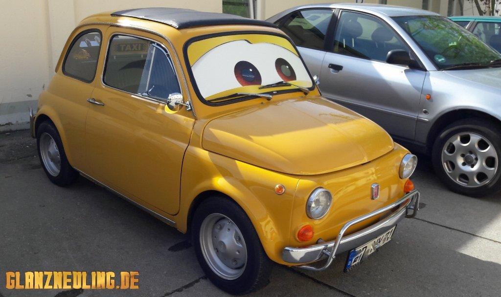 gelbes Filmauto mieten Sachsen, Dresden, Berlin, BRandenburg Görlitz