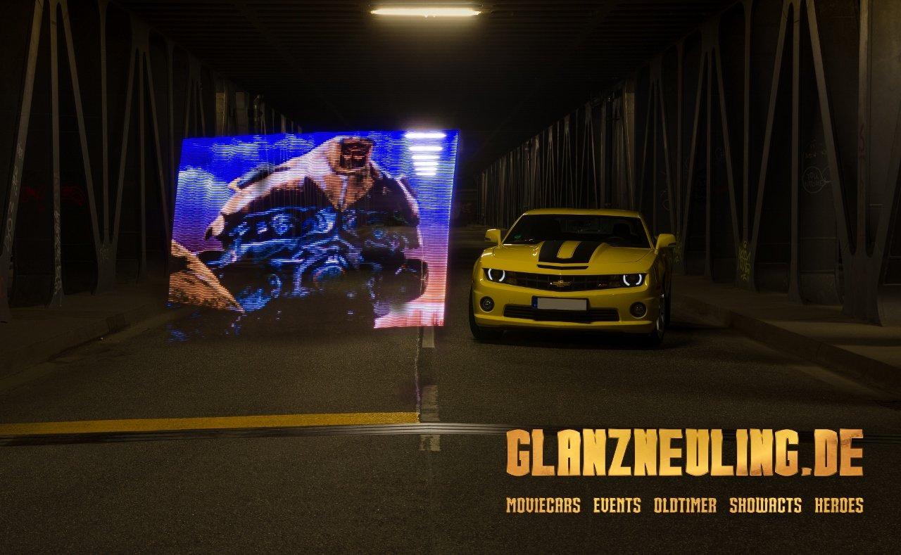 Transformers ist ein Blockbuster und wir haben einen Camaro im Angebot