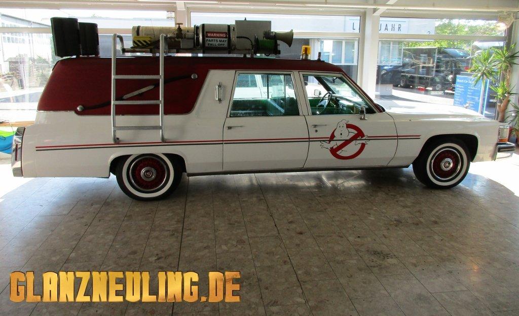 Cadillac Leichenwagen ähnlich Geisterjäger Auto