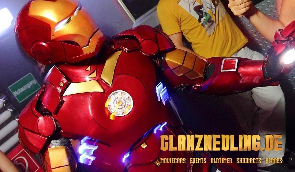 fotobooth ironrobot als hero mieten