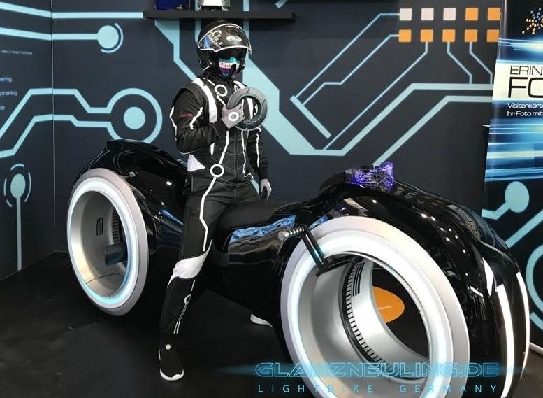 reality game mieten, lightcycle with futurebiker like Vitrual