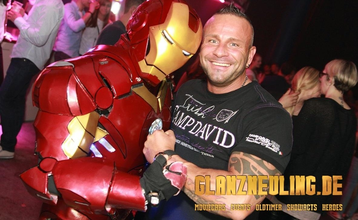 fotobox mit superhelden iron hero mieten