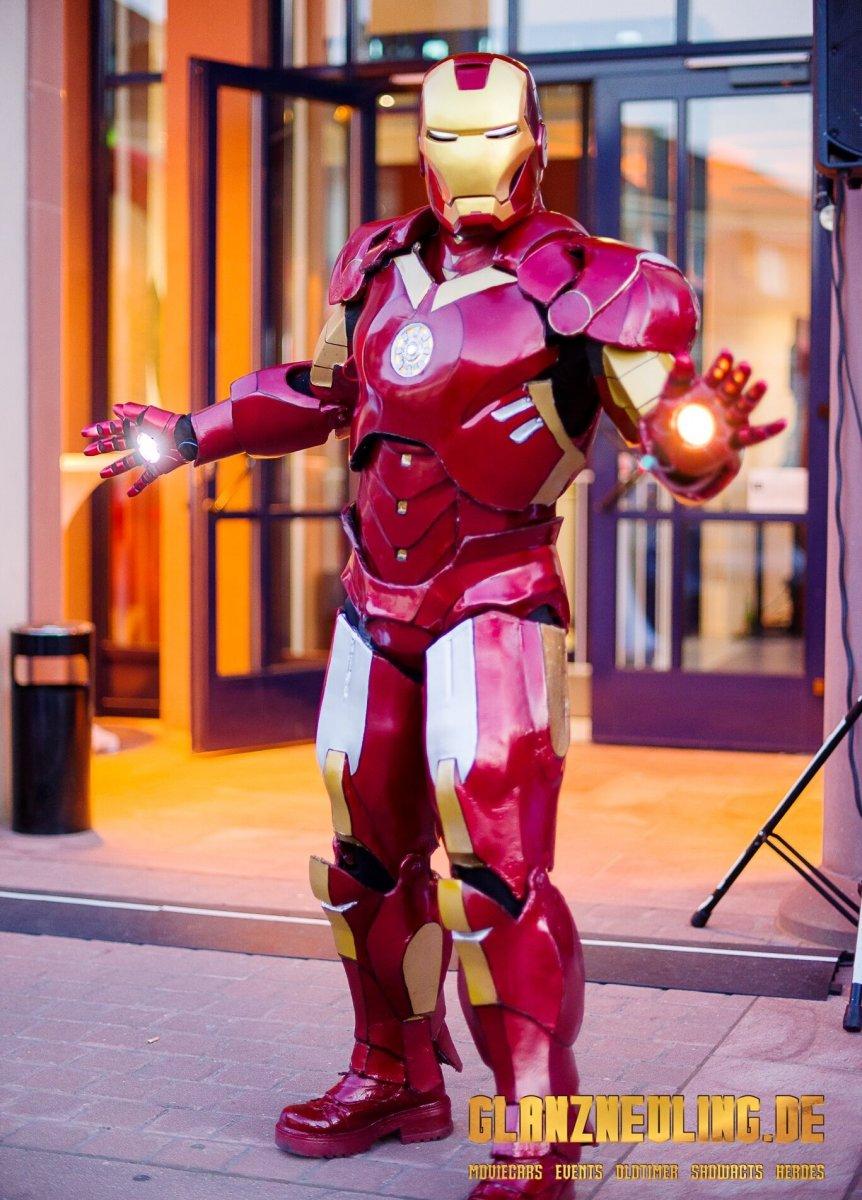 fotobooth mit superheld mieten / iron supermann