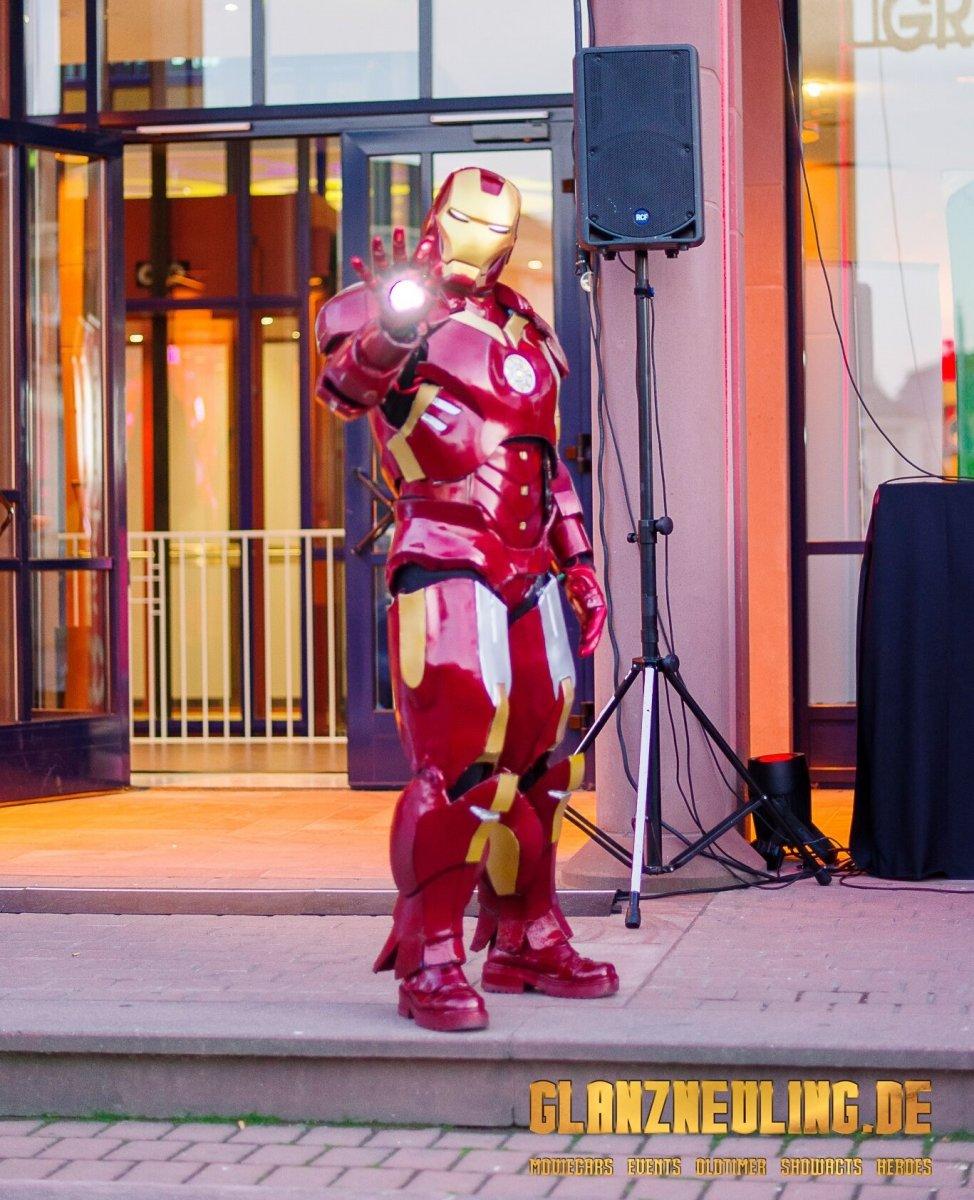 unterwegs mit iron hero bei shows events fotobox mieten