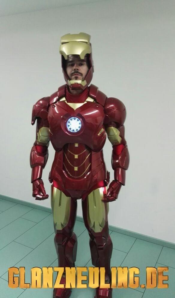 Offener IRON HERO Helm
