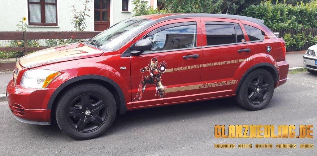 IRON MAN Avengers Car