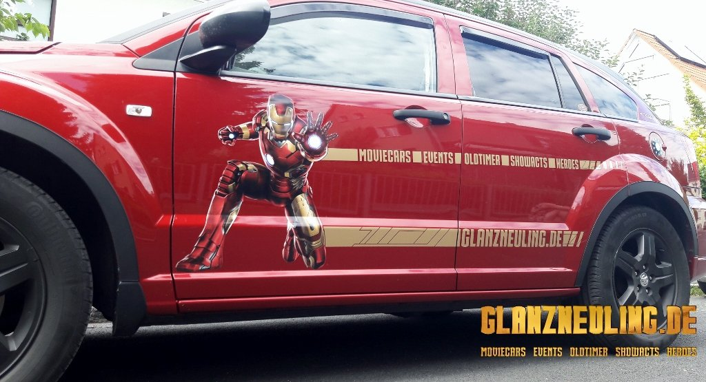 Iron MAn am Avengers Car