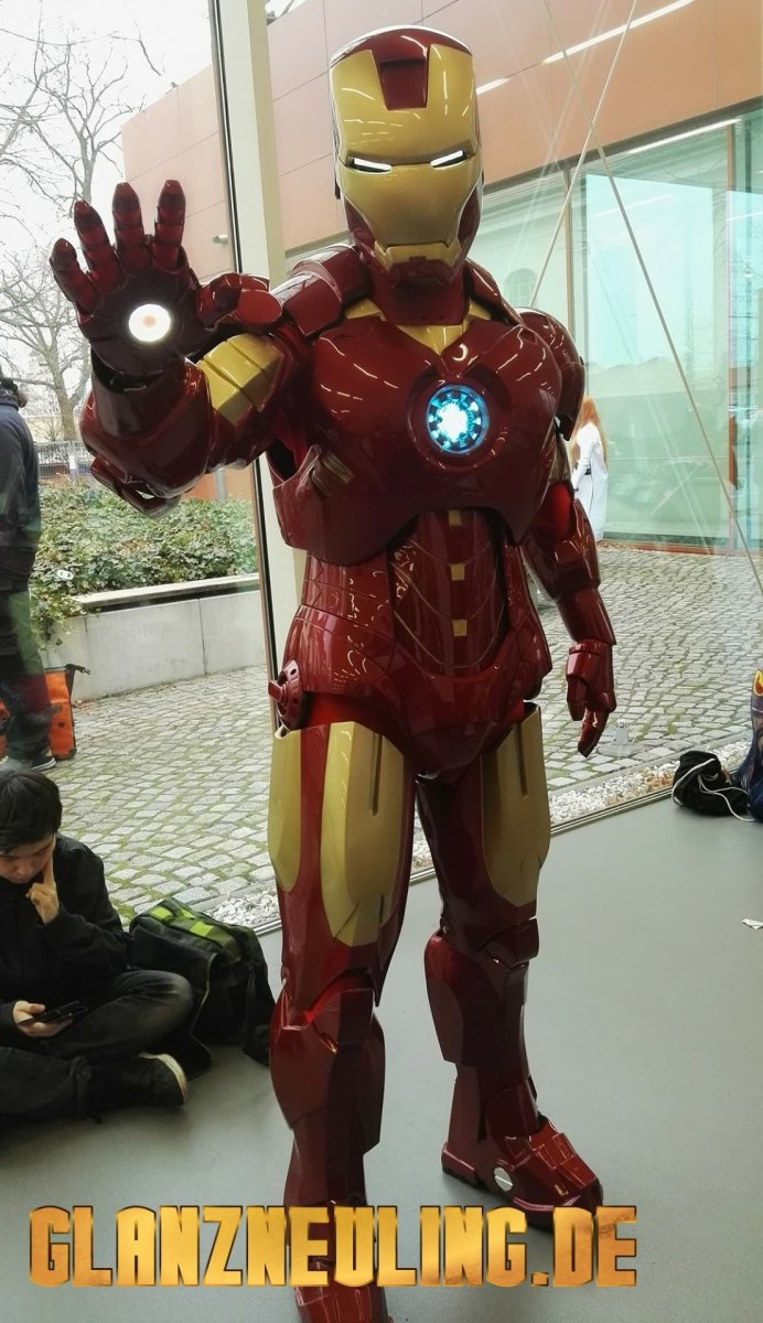 Iron Man Anzug mieten