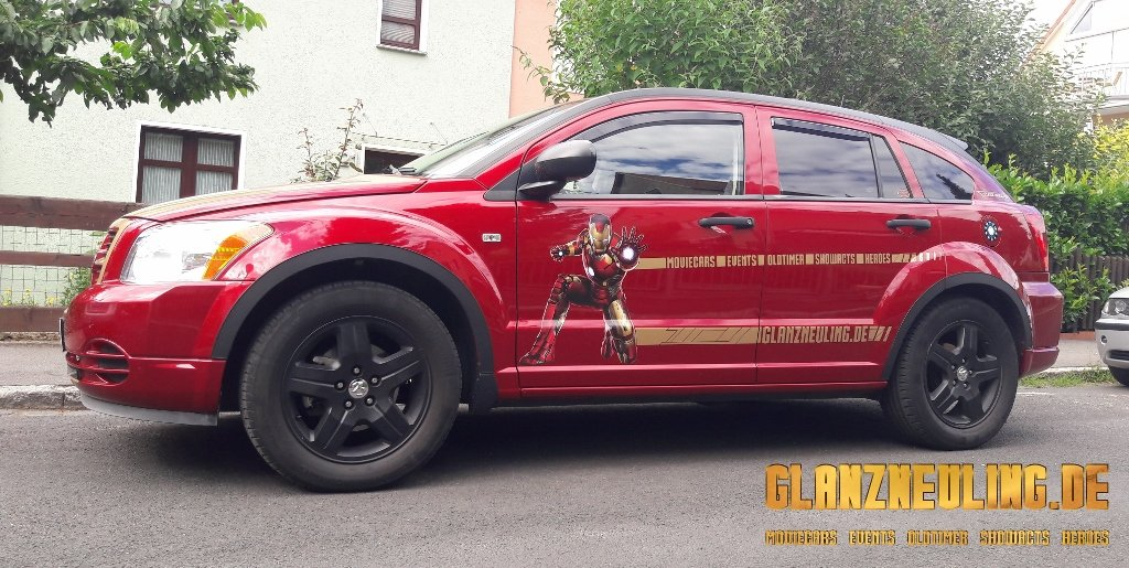 MArvel Promotion Car