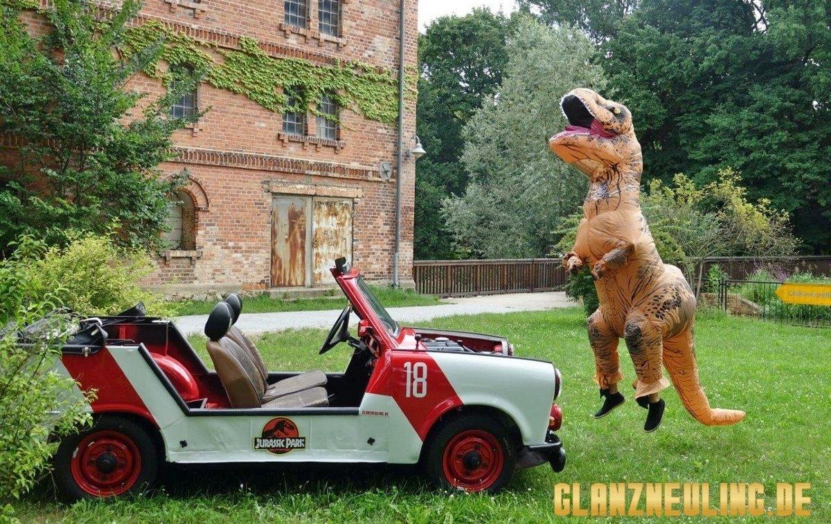 Jurassic Park hat einen T-Rex