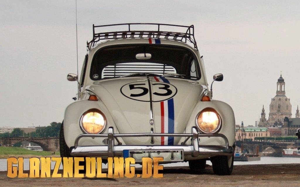 VW Käfer Herbie Dresden mieten