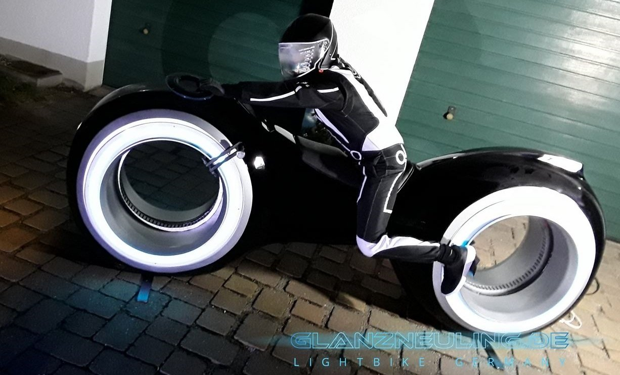 Lightbike mieten Event MEsse Digitalsierung idee Eyecatcher