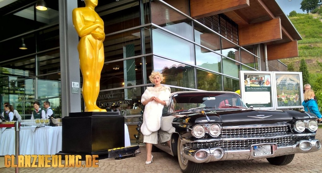 Filmreifen Cadillac mieten in Radebeul, meißen, Dresden, Pirna