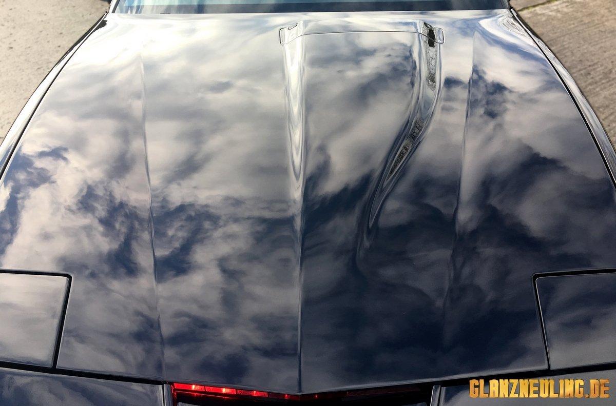 Pontiac Trans Am in schwarz als KITT