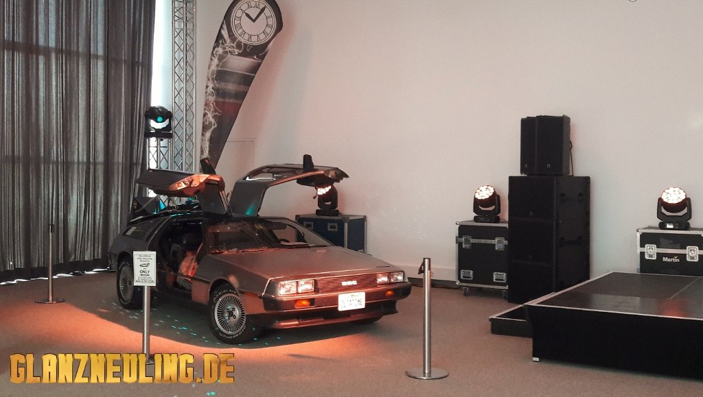 Messe Berlin Delorean