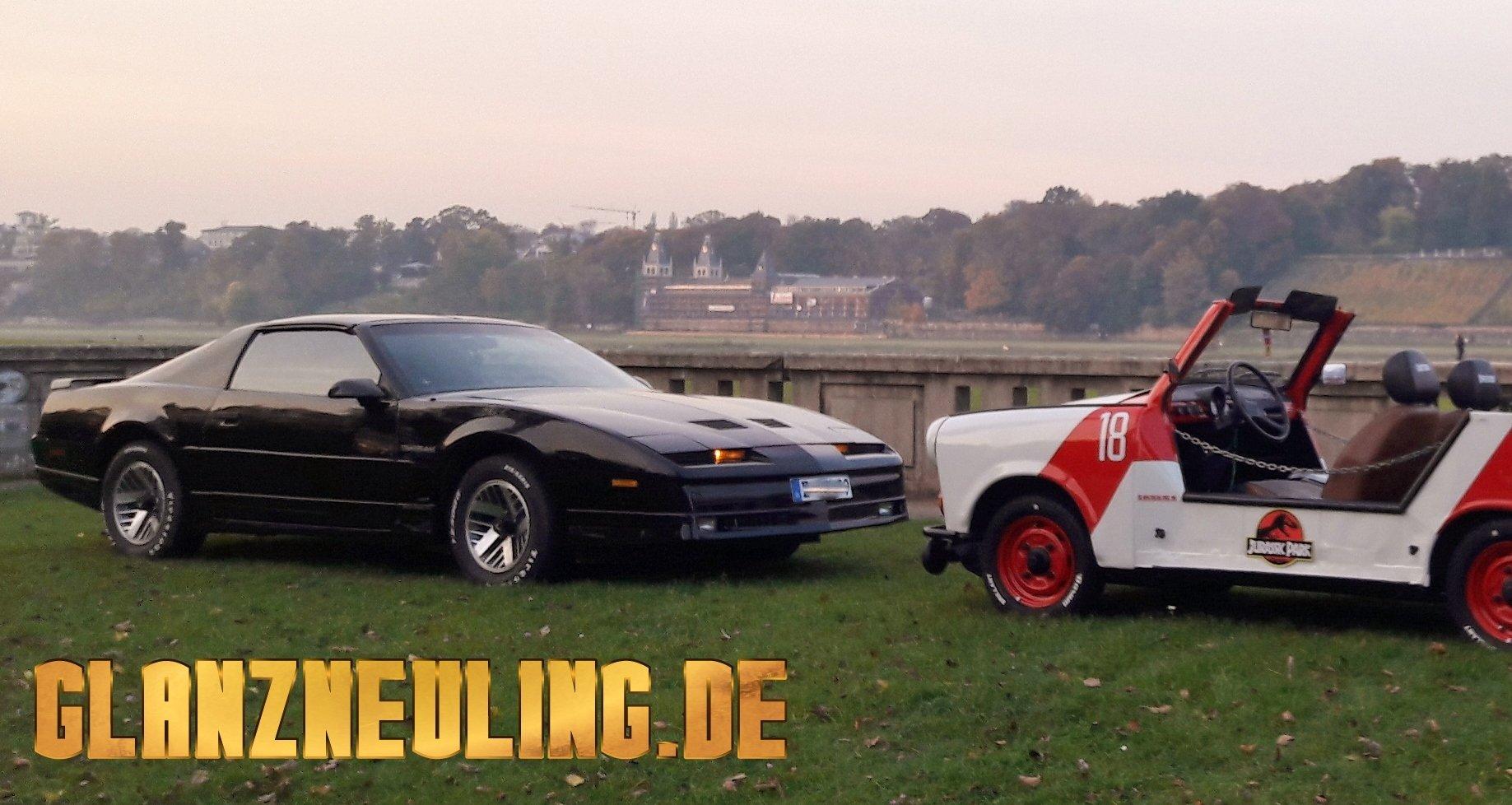 Elbschlösser Dresden mit Filmautos