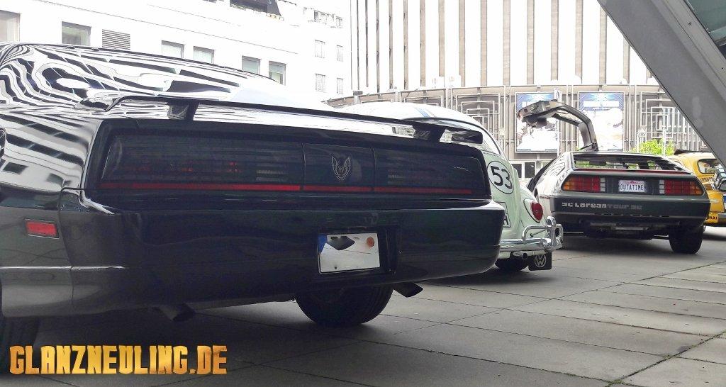 Filmautotreffen in Dresden bei GLANZNEULING