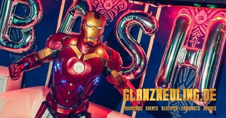 cosplayer mieten iron superheld