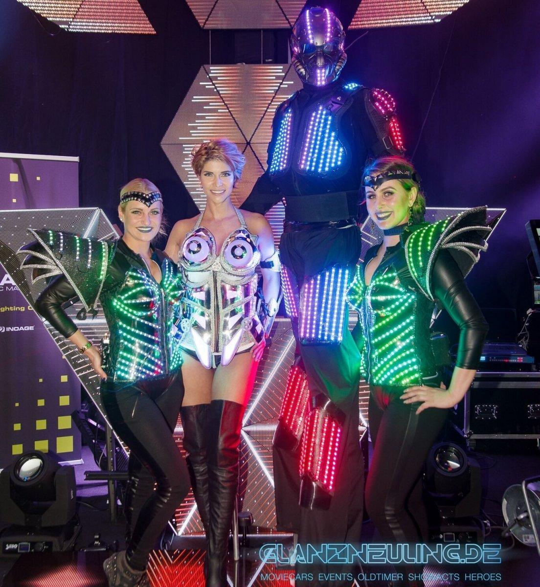 Stelzenläufer LED Dancer mieten