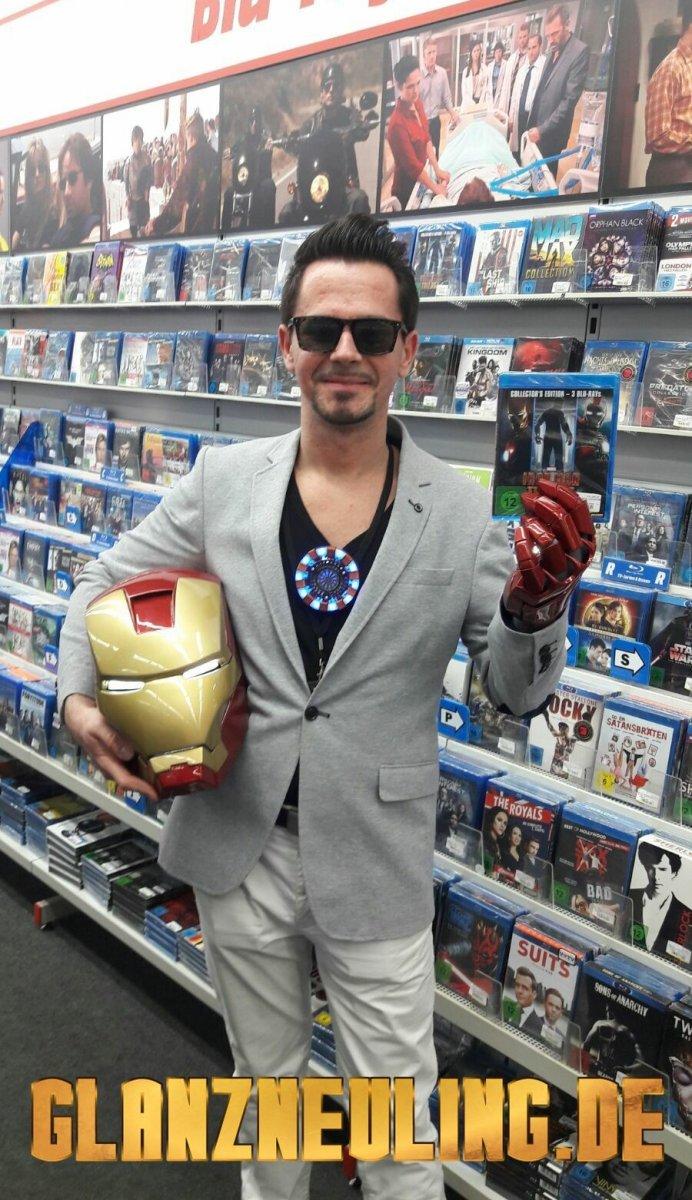 Darsteller sieht wie Tony Stark aus