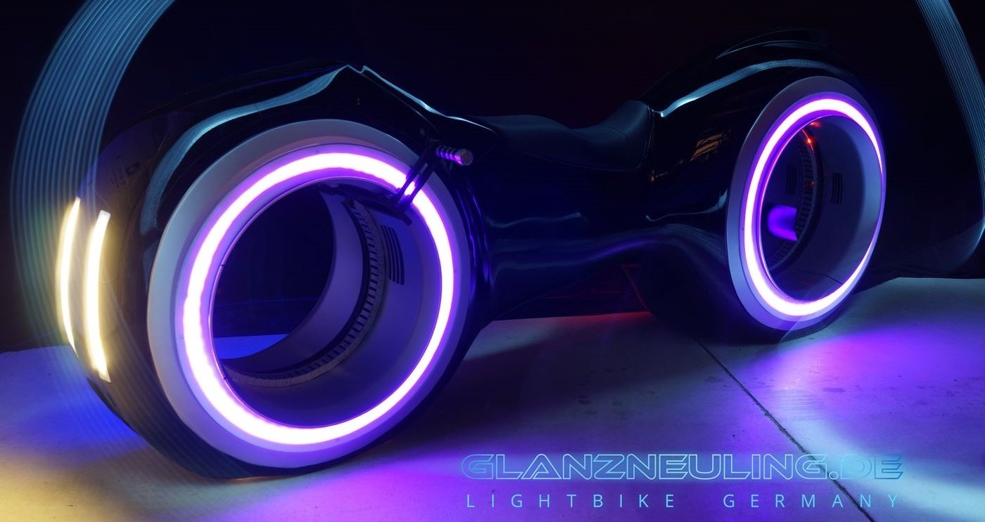 Lightbike mieten Germany Messe Event Show
