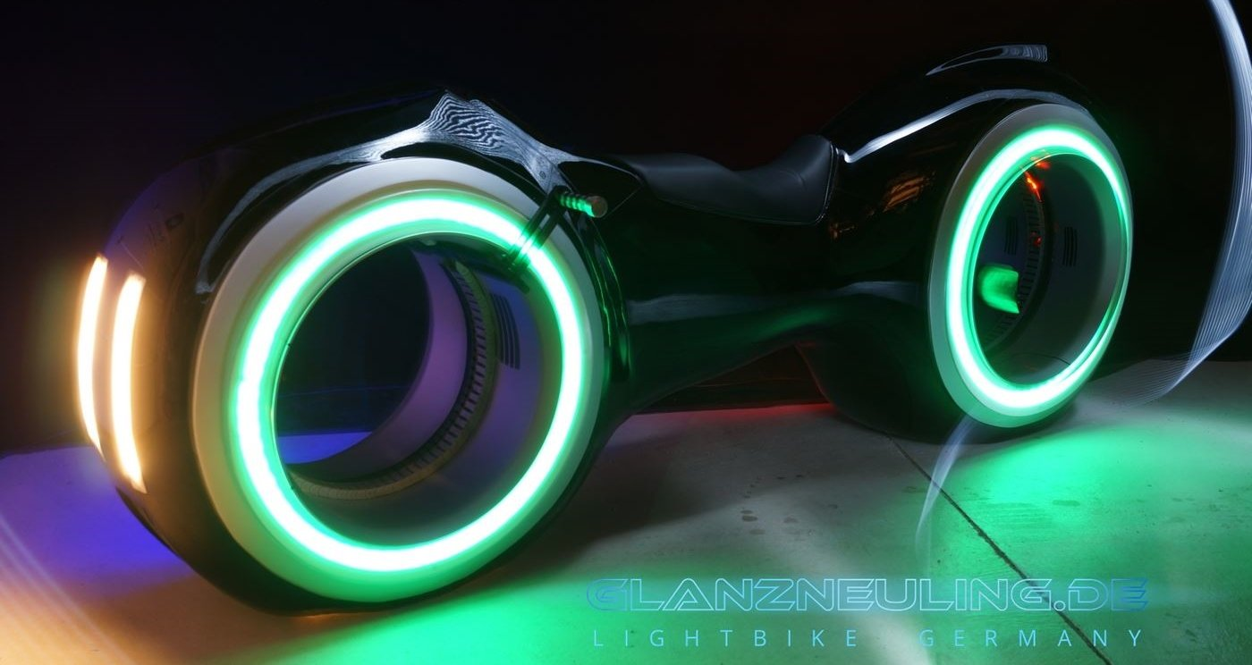 Lightbike mieten Germany Messe Tagung Show PArty