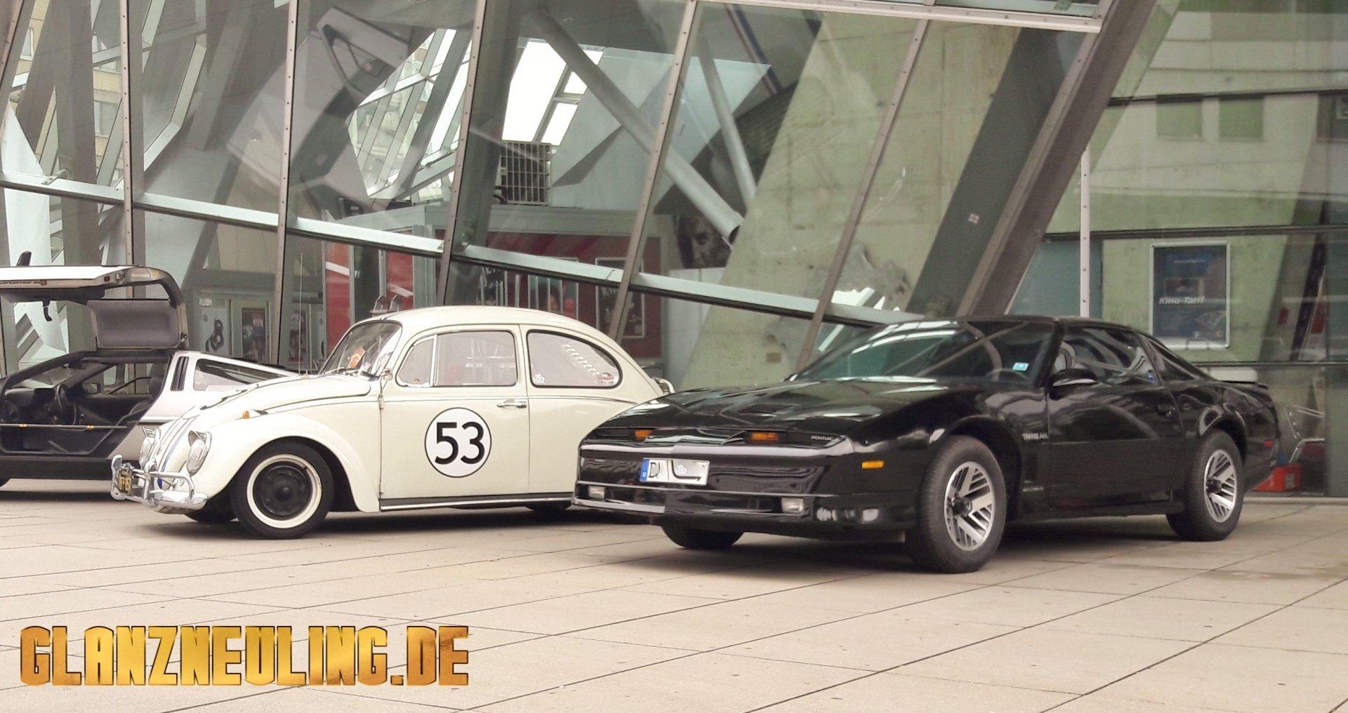 Herbie und KITT von der Seite Fotografieren