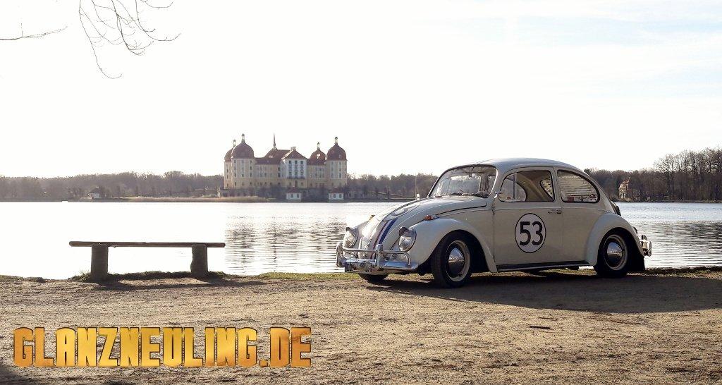 Herbie VW in Moritzburg und Dresden mieten