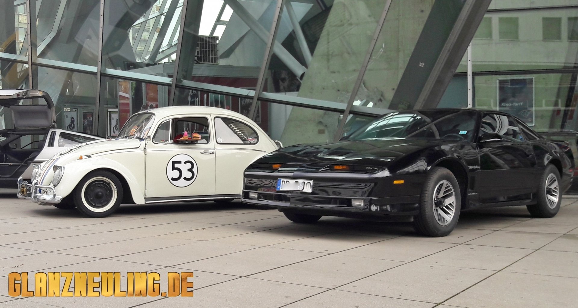 Knight Rider und Herbie in Dresden