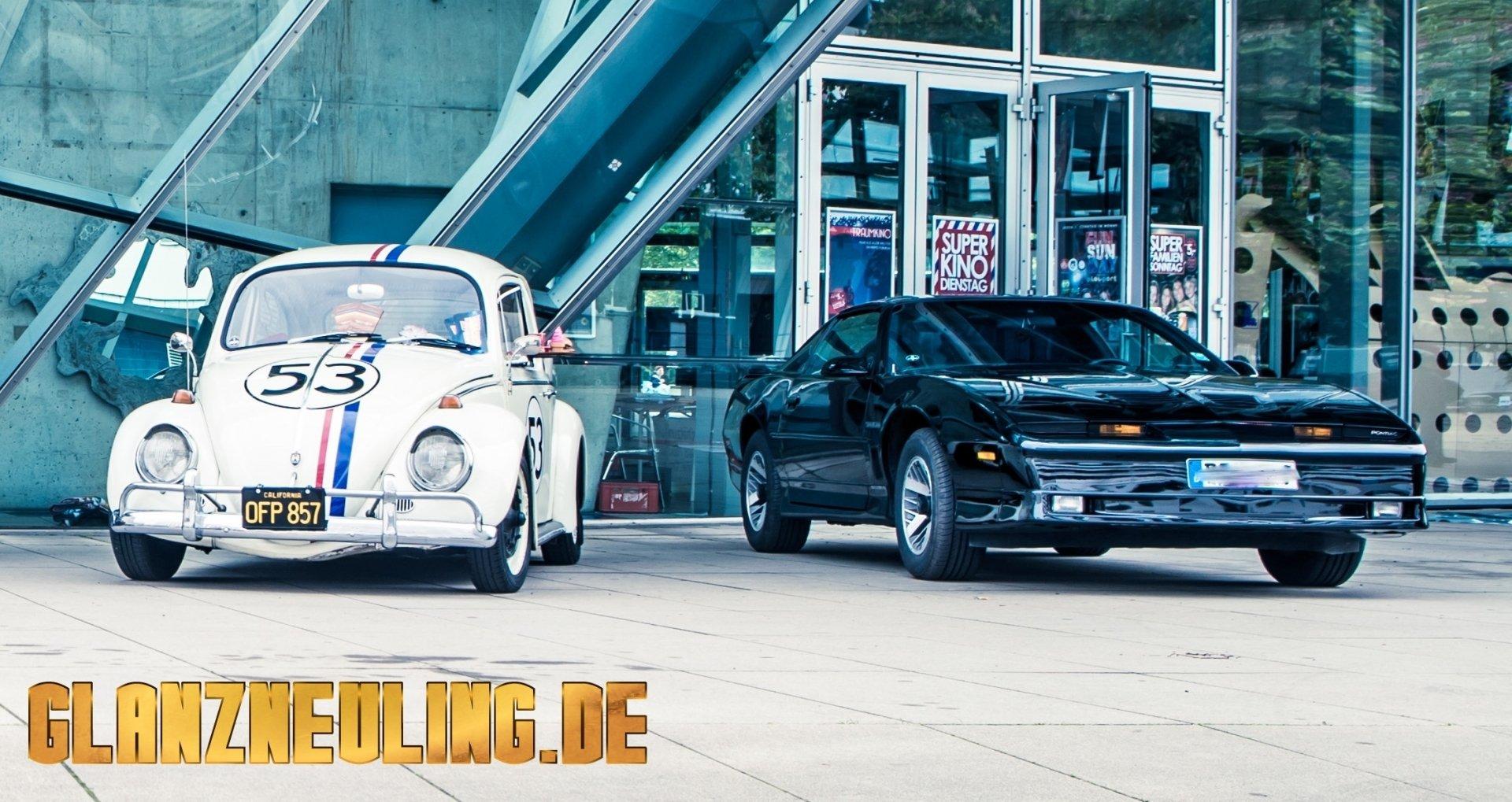 Herbie und KITT als Filmautos mieten