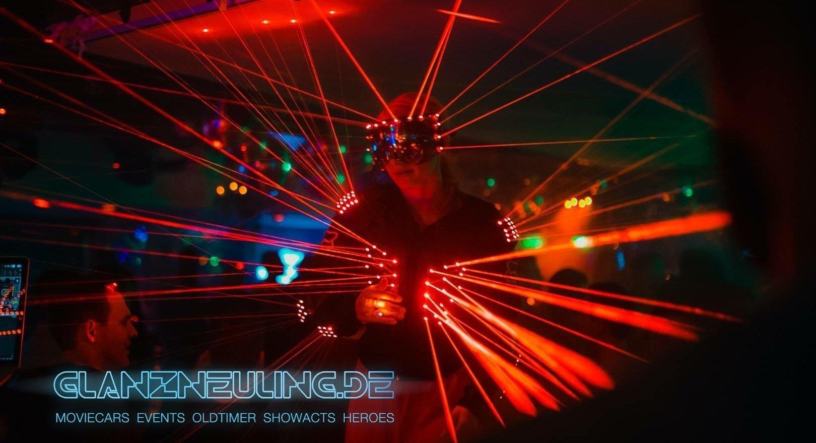 Laser Show Tänzer mieten