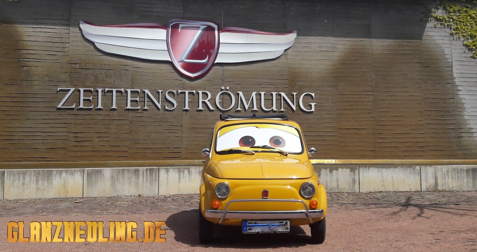 Fiat  500 OLdtimer mieten Dresden