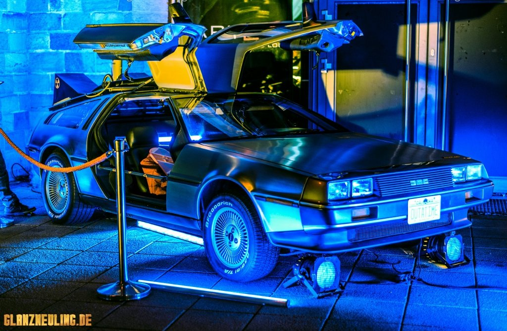 Berlin Brandenburg Delorean DMC 12 buchen